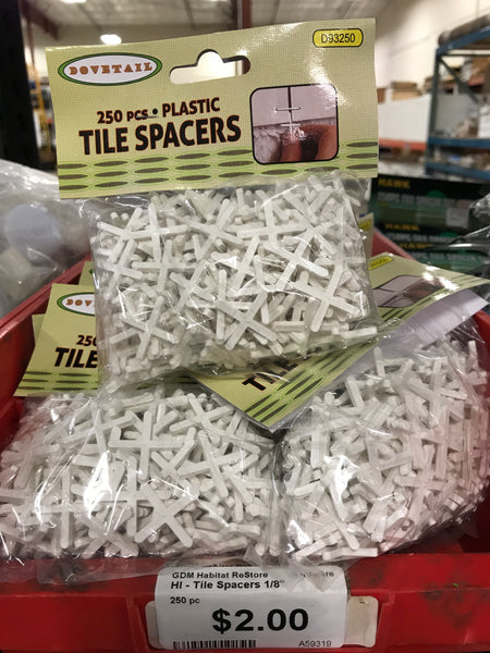 Tile Spacers-1/8""