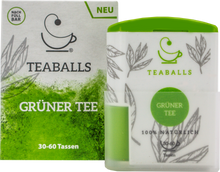 Load image into Gallery viewer, Teaballs Spender - Grüner Tee