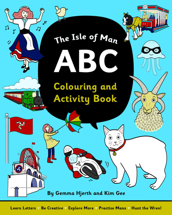 The Isle Of Man Abc Colouring & Activity Book
