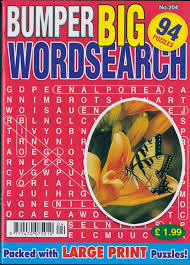 Bumper Big Word Search