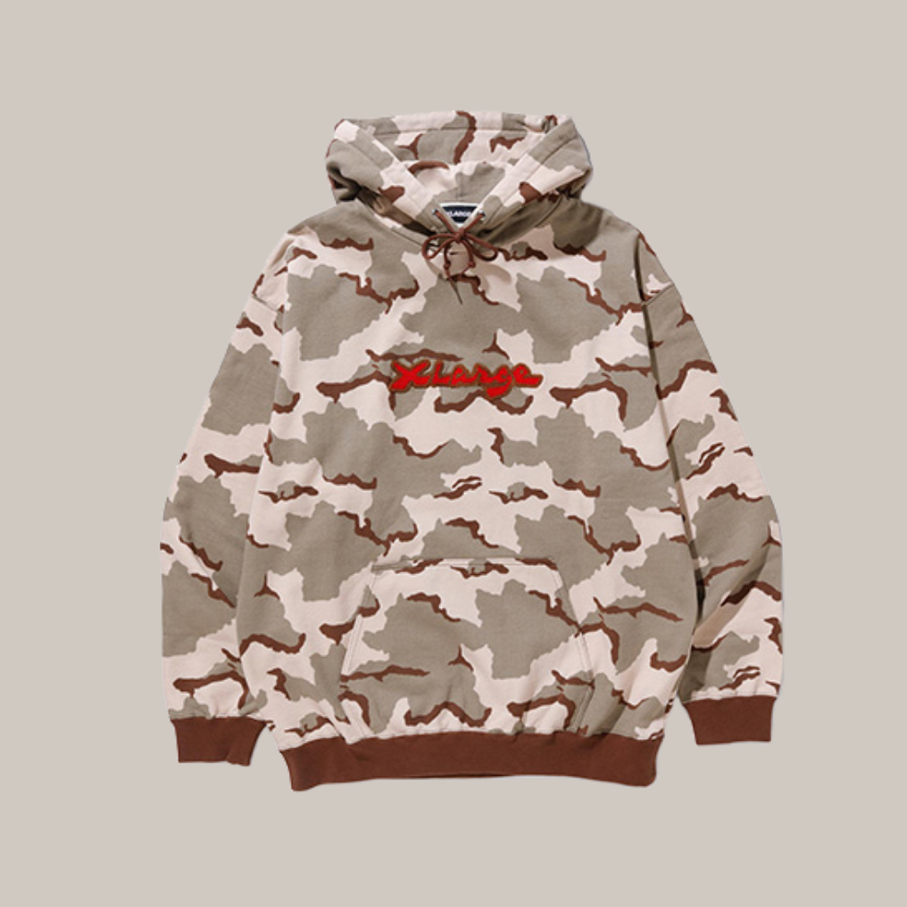 CAMO PULLOVER HOODED SWEAT COLOR 02