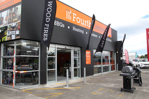 Fourth Element Showroom - outdoor facade