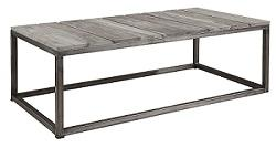 Anson Outdoor Coffee Table side view