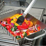 Broil King Deep Dish Grill Wok cooking food