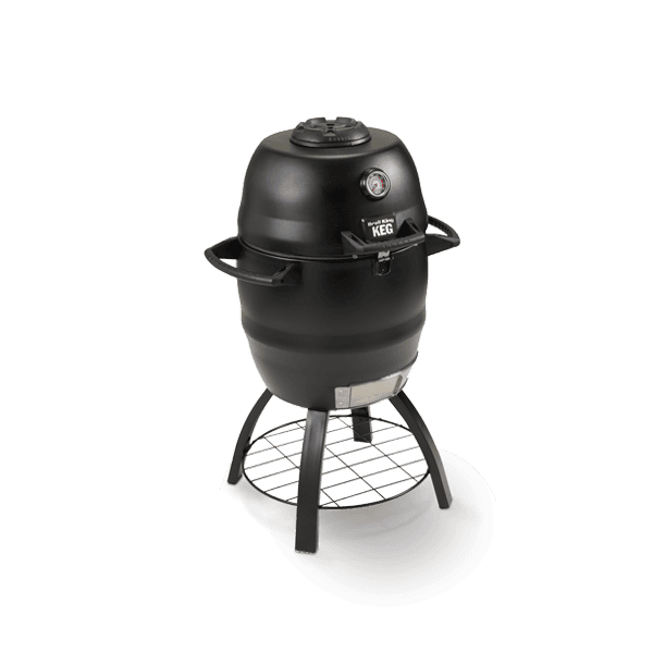 Broil King Keg 2000 Charcoal BBQ side view