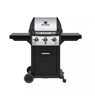 Broil King Monarch 320 front view with lid closed