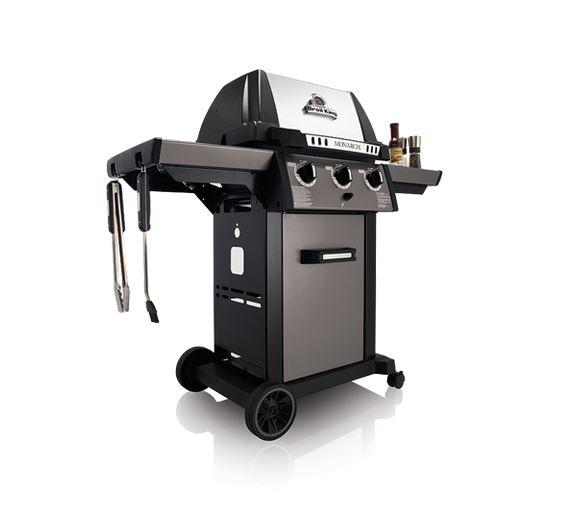 Broil King Monarch 320 side view