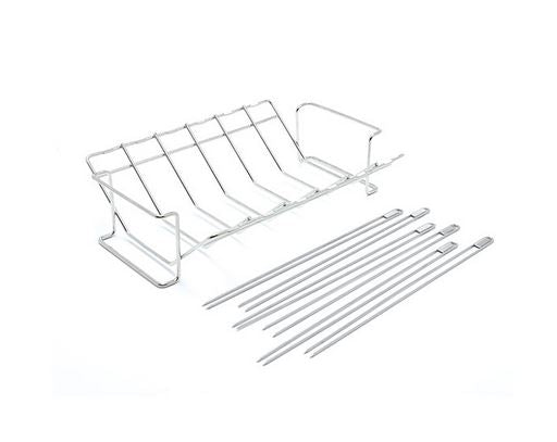 Broil King Multi Rack & Skewer Set uninstalled