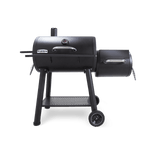 Broil King Offset Charcoal Smoker side view