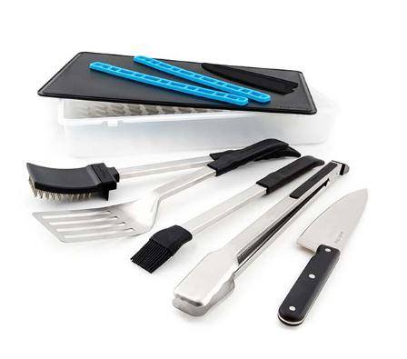 Broil King Porta Chef Grill Tool Set laid out