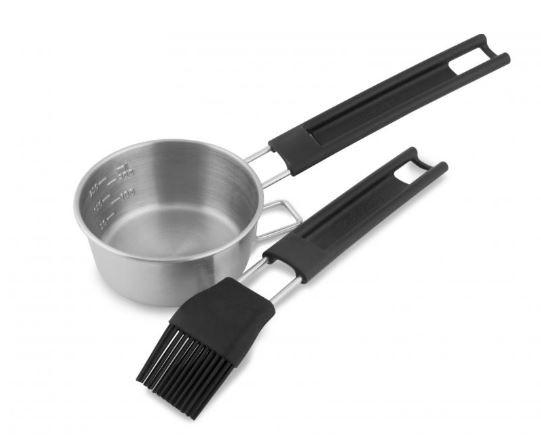Broil King Stainless Steel Basting Set black