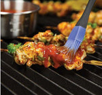 Broil King Stainless Steel Basting Seta cooking on BBQ