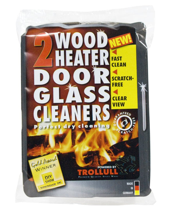 Door Glass Cleaner - 2 pack in packaging