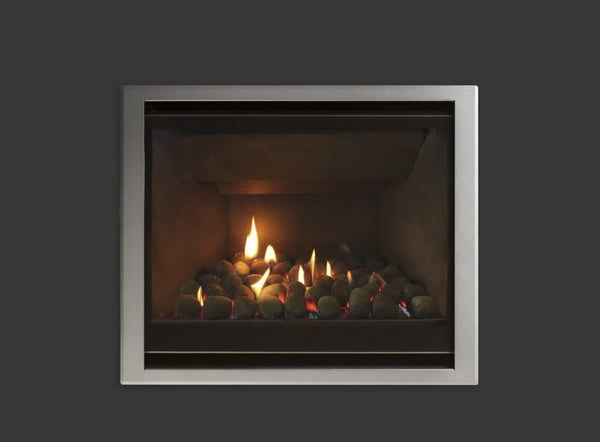 Escea DF700 Gas Fireplace front close up