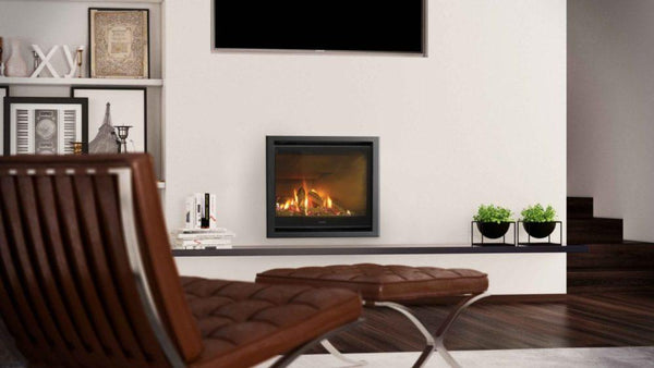 Escea DF700 Gas Fireplace installed in living area