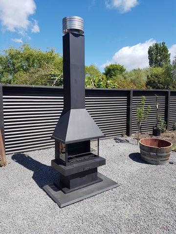 Freestanding Outdoor Fire