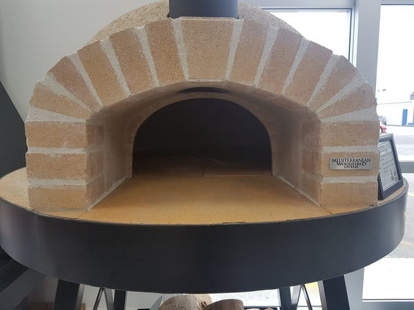 Igloo Pizza Oven and Stand front view