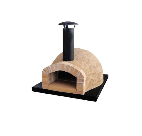 Igloo Pizza Oven and Stand side view
