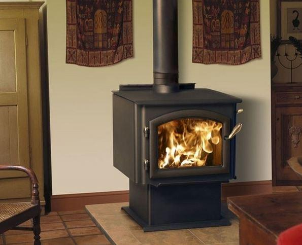 Quadra Fire 2100 installed in living area