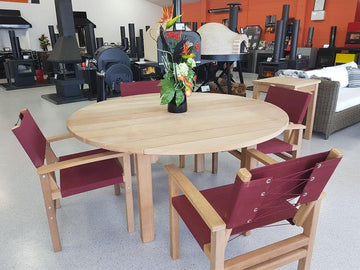 Riviera Table & Chairs Set