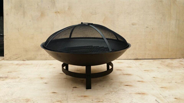 Round Fire Pit with lid