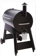 Traeger Pro 34 Blue end view