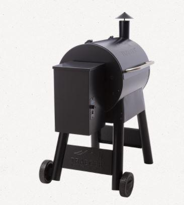 Traeger Pro Series 22 Black back view
