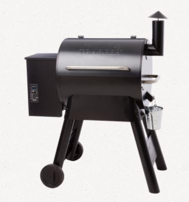 Traeger Pro Series 22 Black side view