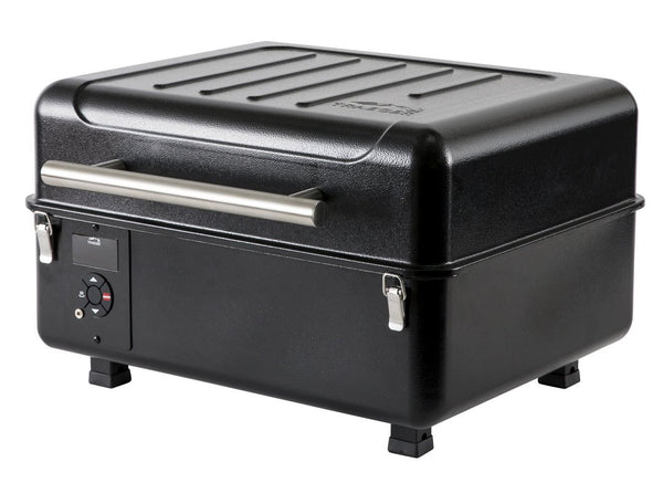 Traeger Ranger Pellet Grill side view lid down
