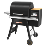 Traeger Timberline 850 left side view
