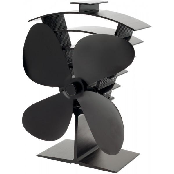 Valiant Premium 4 Blade Heat Powered Stove Fan