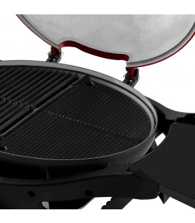 Ziggy Twin Grill Reversible Hotplate Installed
