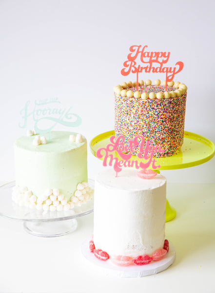 Easy Ways to Decorate your Cake with Sugarfina!