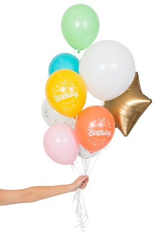 BALLOON LETTERS - HAPPY BIRTHDAY