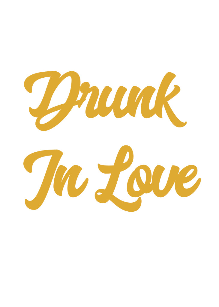 PARTY BANNER - DRUNK IN LOVE - Bracket
