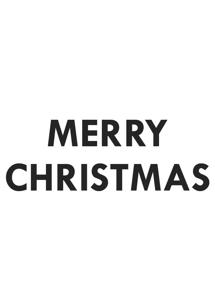 PARTY BANNER - MERRY CHRISTMAS - Bracket