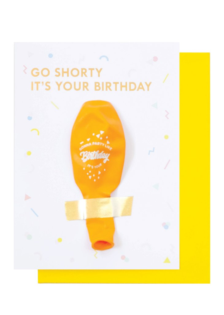 BIRTHDAY BALLOON CARD - Bracket
