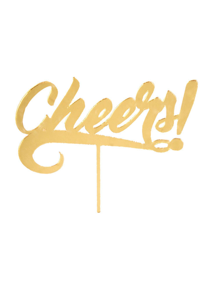 CHEERS! - CAKE TOPPER - Bracket