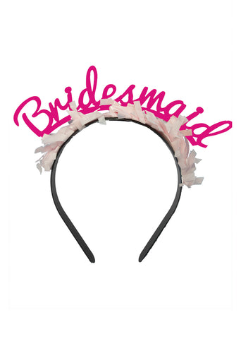 PARTY UP TOP HEADBAND: SINGLE 'BRIDE'
