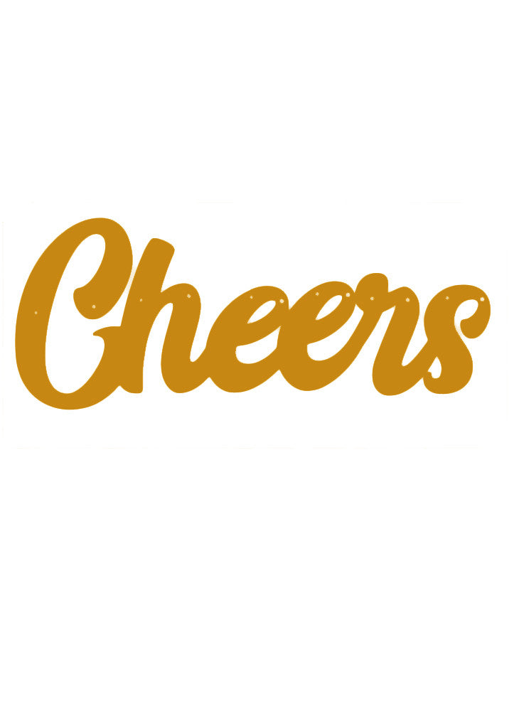 PARTY BANNER - CHEERS