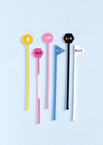 STAR DRINK STIRRERS PACK