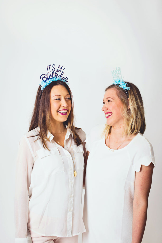 PARTY UP TOP HEADBAND: SINGLE ' IT'S MY BIRTHDAY ' - Bracket