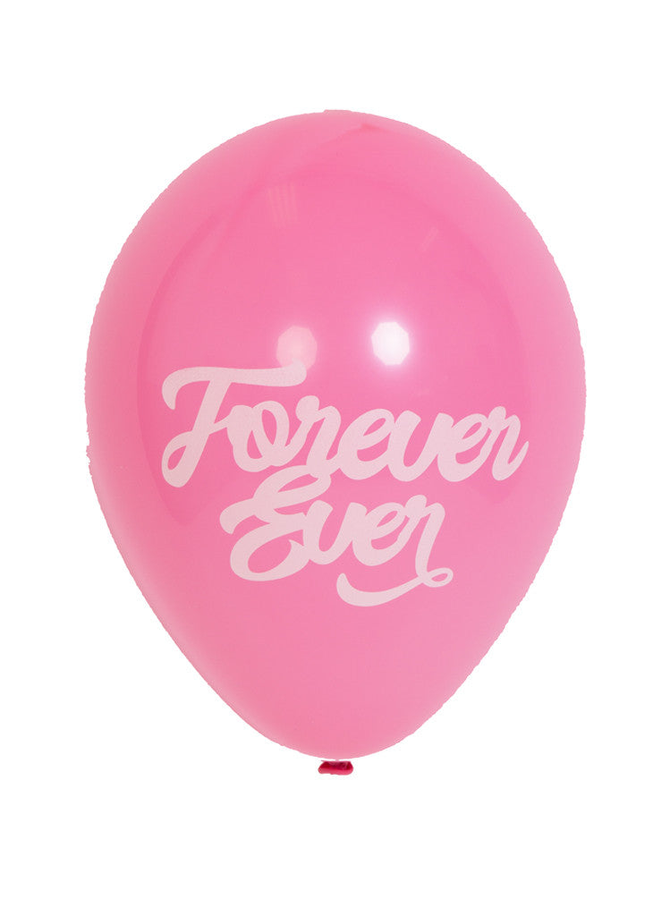PARTY BALLOONS - Forever Ever - Pink - Bracket
