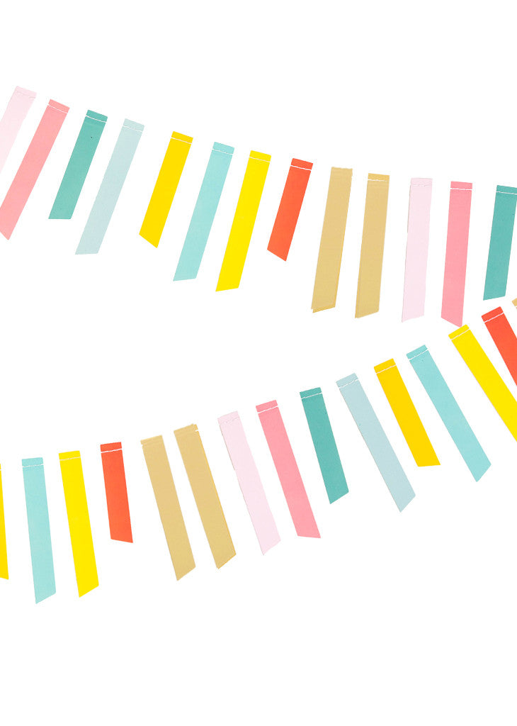 GARLAND - MULTI STRIPE - Bracket