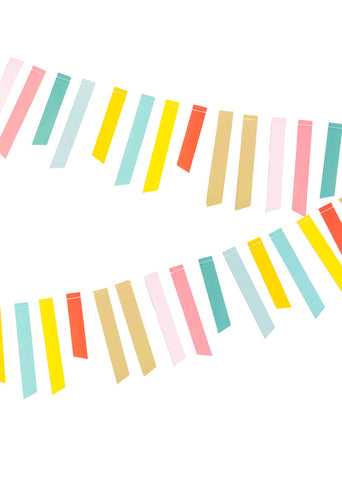 GARLAND - GOLD FOIL STRIPE
