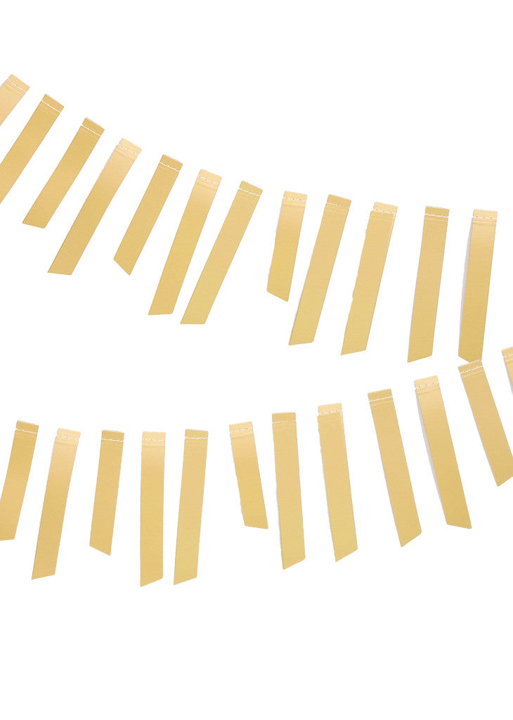GOLD FOIL PAPER GARLAND - Bracket