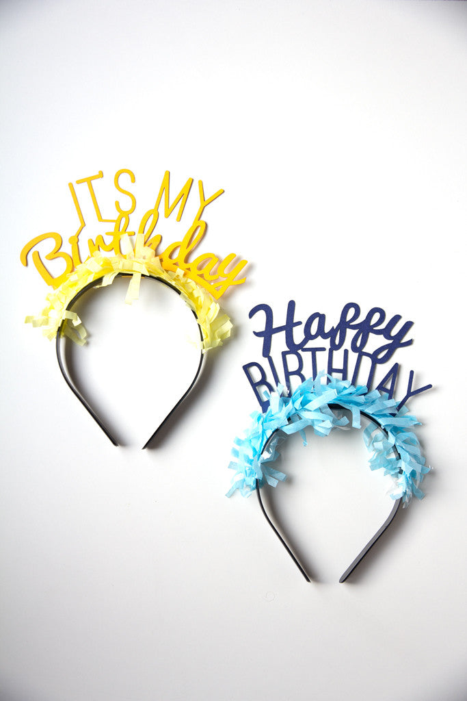 PARTY UP TOP HEADBANDS: BIRTHDAY PACK - Bracket