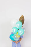 PARTY BALLOON BUNDLES - BABY BOY BALLOON PACK - Bracket