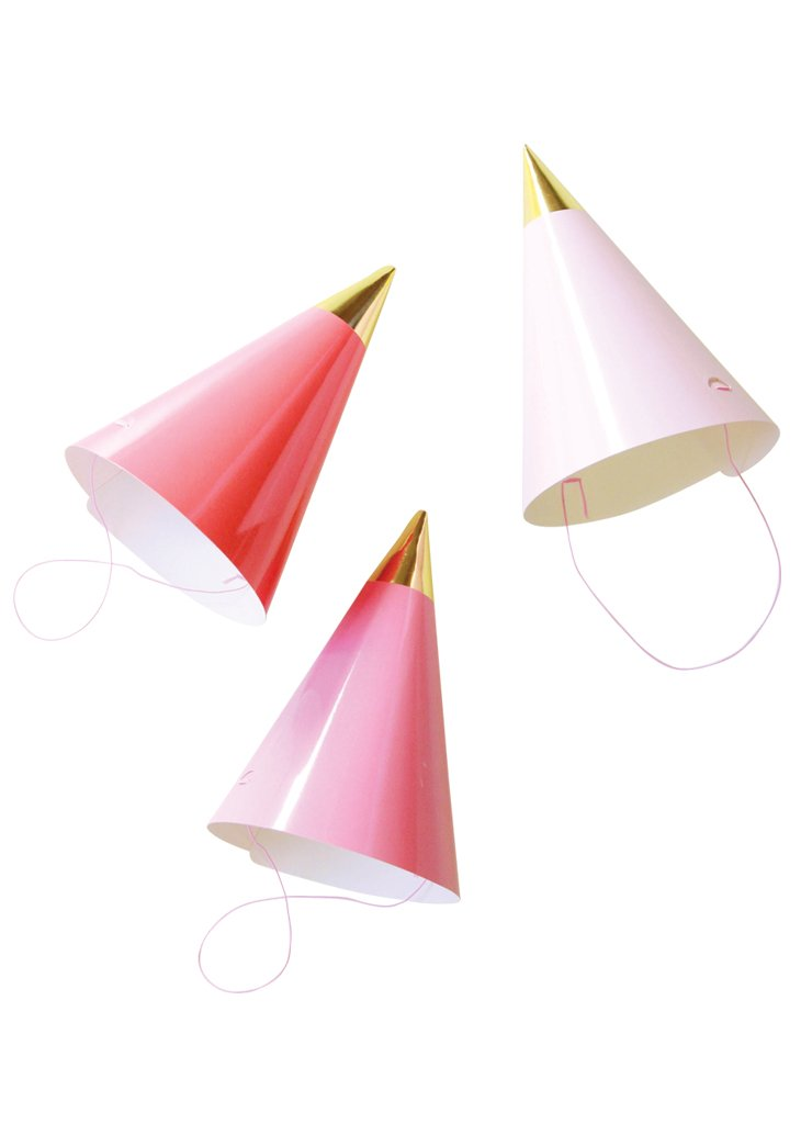 PARTY HATS - PINK PACK - Bracket