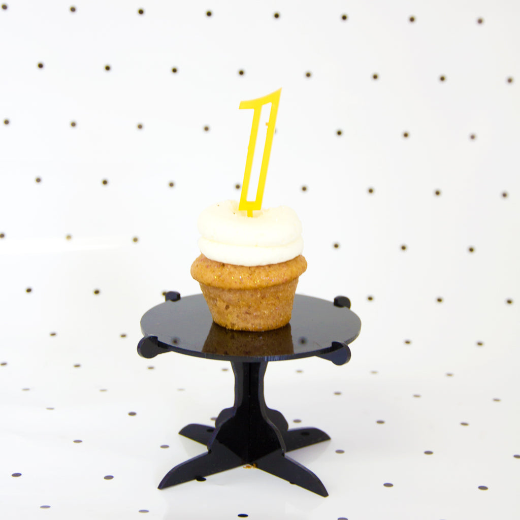 NUMBER CAKE TOPPERS - Old Design - Bracket